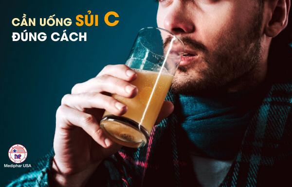 Người dùng cần sử dụng vitamin c đúng cách