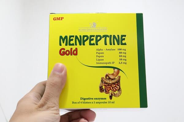 thuốc men tiêu hóa menpeptine gold